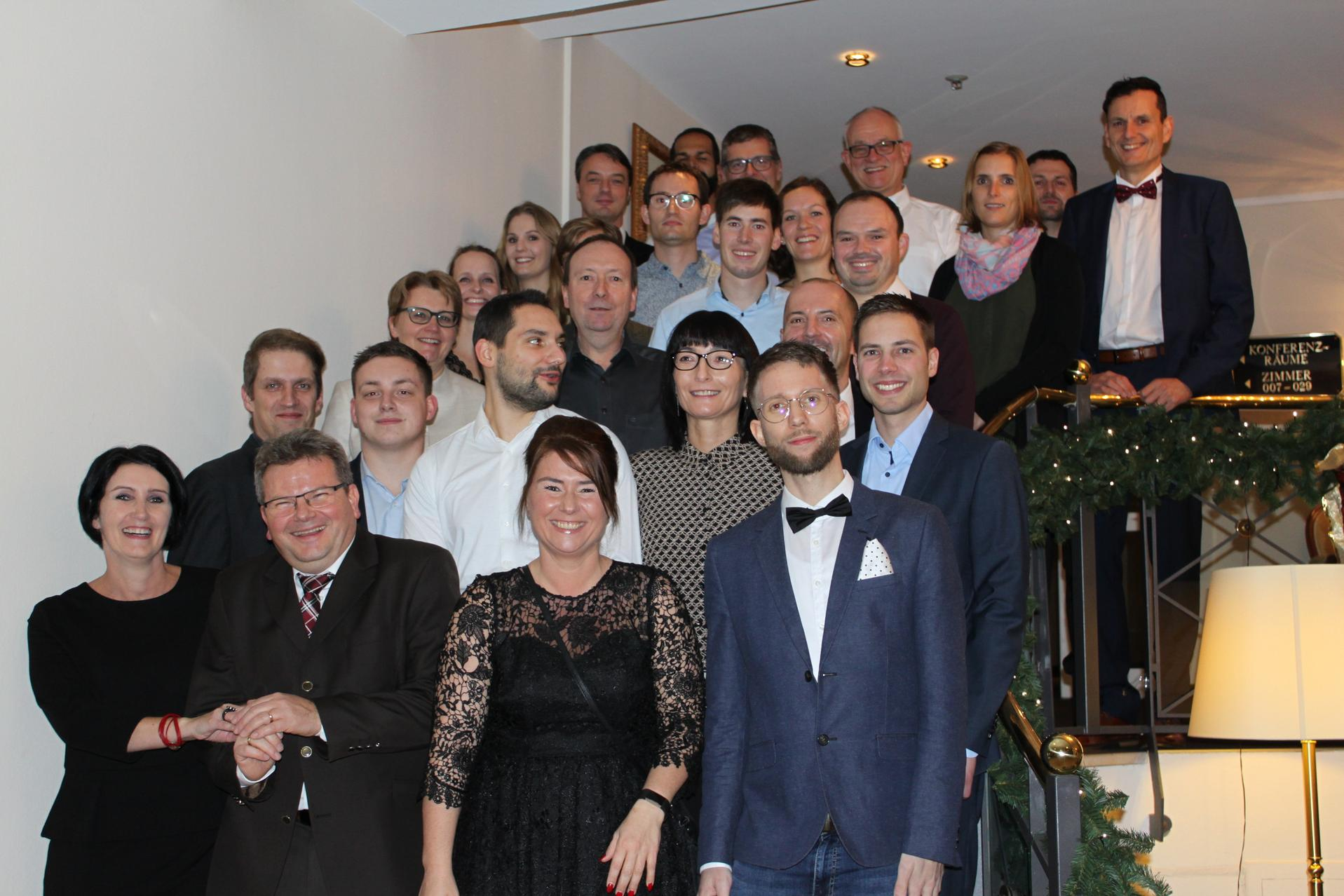 Team amotiq solutions im Hotel Victor's Residenz